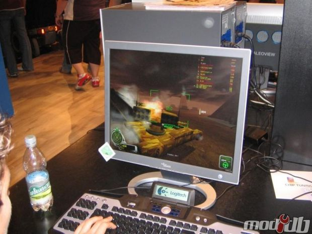 Game Convention in Leipzig wth EA (2006)