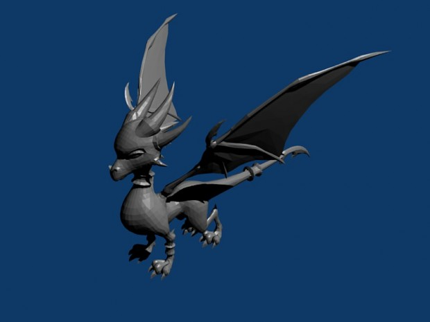low poly cynder