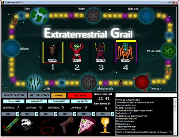Extraterrestrial Grail version 1.1.0.2 (zip)