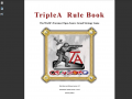 TripleA Manual and Rule Book