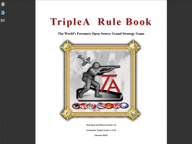 TripleA Manual and Rule Book