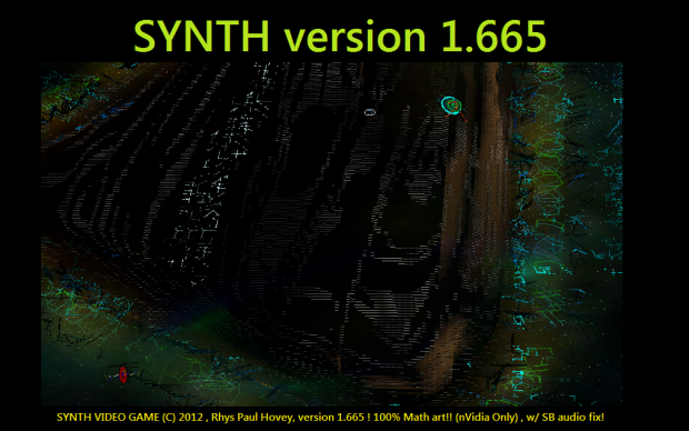 SYNTH(tm) VIDEO GAME v1.665 (FIXES SB cards)