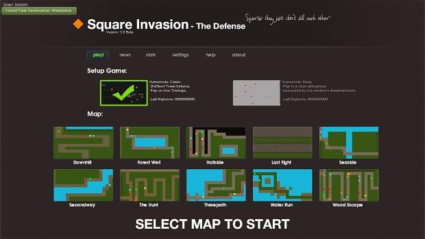 Square Invasion: The Defense 1.0