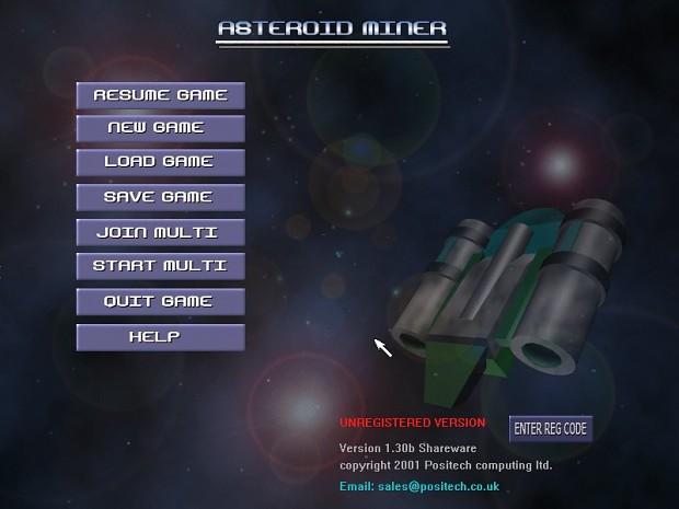 Asteroid Miner Windows demo