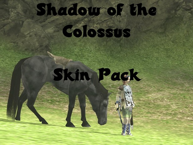 Shadow of the Colossus Skin Pack