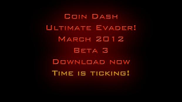 Coin Dash V3 Ultimate Evader!