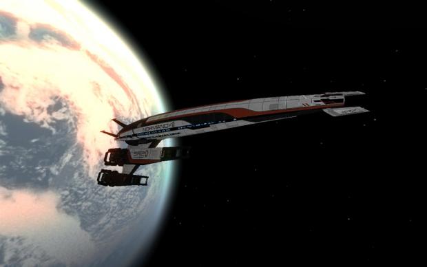 Cerberus Normandy of Mass Effect 2