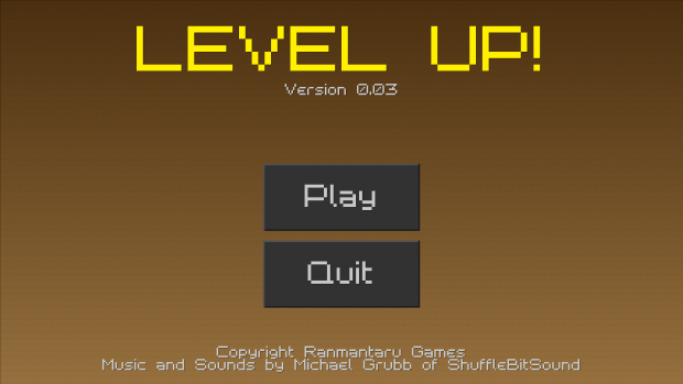 LEVEL UP! 0.03 demo installer