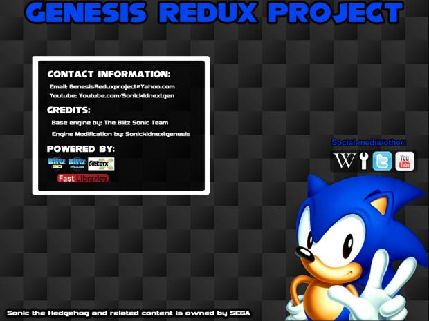 Genesis Redux Project - Version 1.0.0