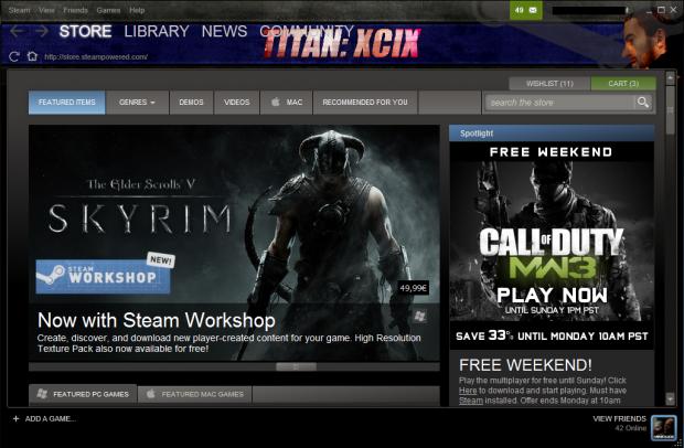 Titan: XCIX V2 STEAM SKIN