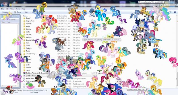 Desktop Ponies V1.41
