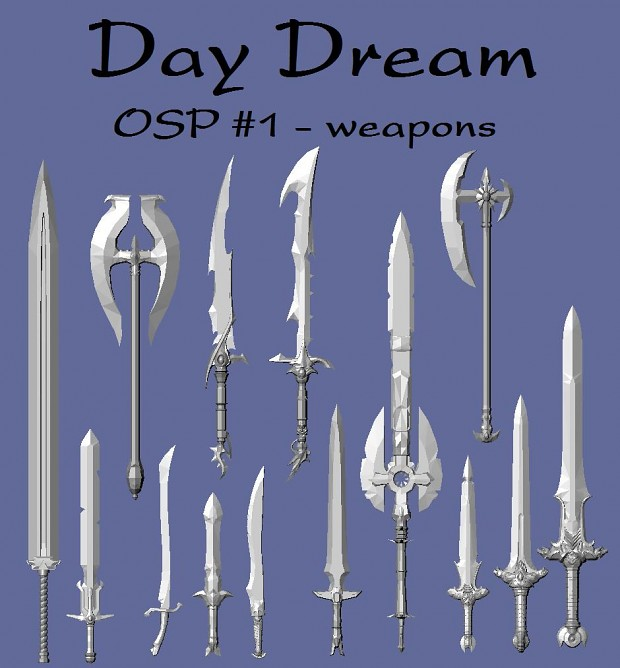 OSP #1 - weapons