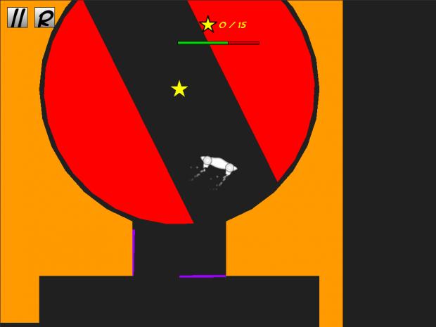 Flyer gameplay prototype (MacOSX)