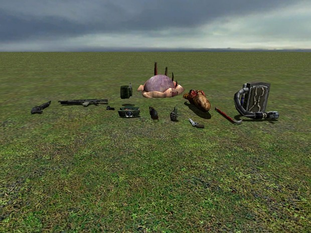 Half-Life ReBuilt Weapons (Half-Life 1)