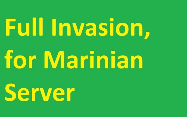 Mount & Blade Warband: Full Invasion for Marinian