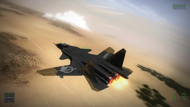 Su-43 - Skins Ace Combat 3 (v2)