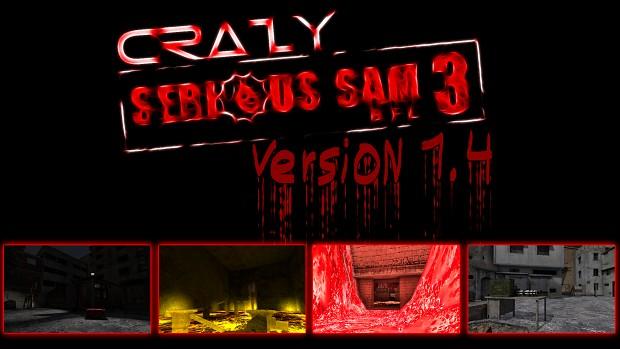 CRAZY Serious Sam 3: BFE Mod (Ver 1.4 RUS)