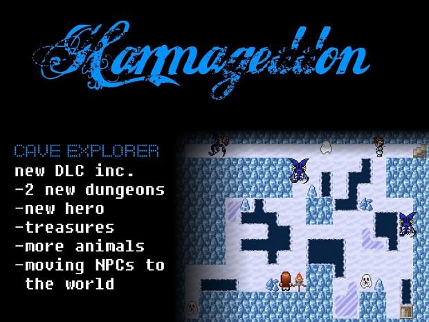Harmageddon inc. The Lost Isle & Cave Explorer