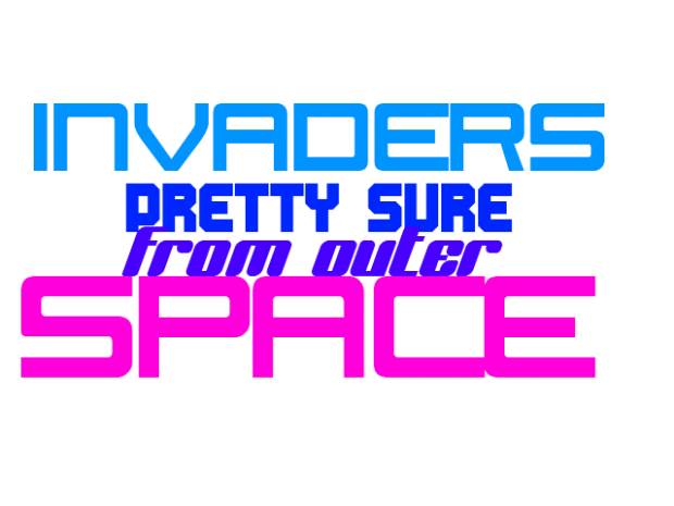 Invaders Pretty Sure From Outer Space V1.00