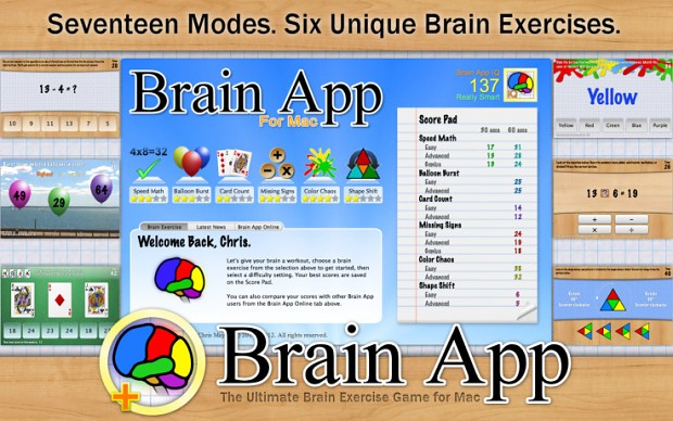 Brain App for Mac (DEMO)