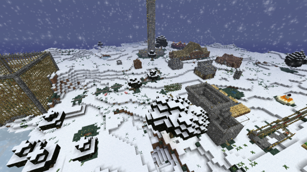 My old server map