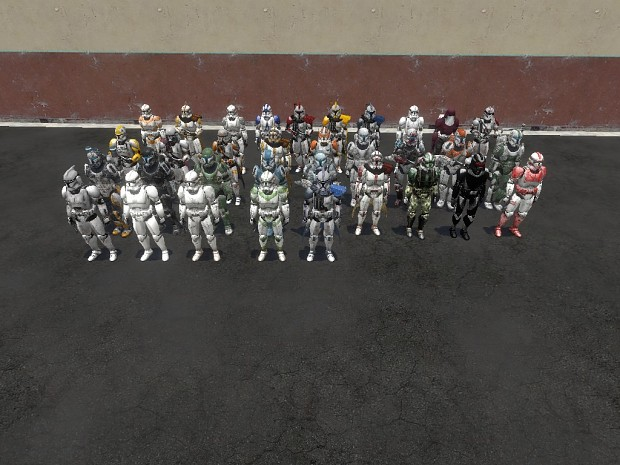 Star Wars Clone Trooper Snpcs v3