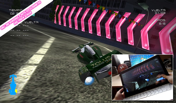 Future Aero Racing  (W8 DEMO v3.0.1)