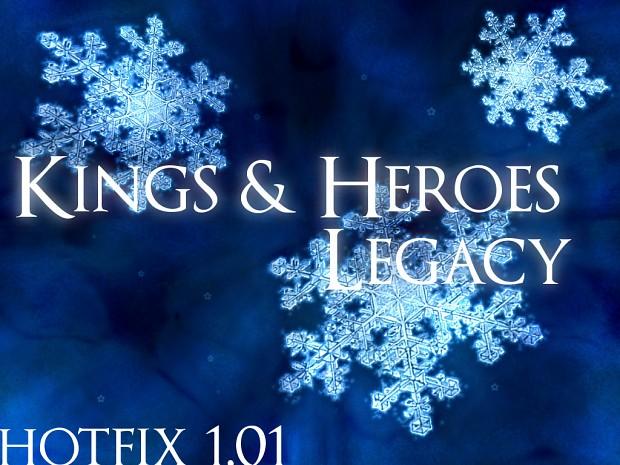 Kings Heroes Legacy Hotfix 1.01