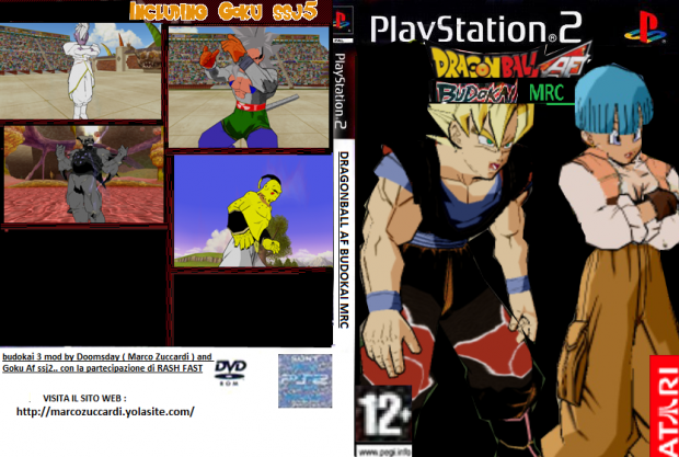 DRAGONBALL BUDOKAI MRC Beta Game