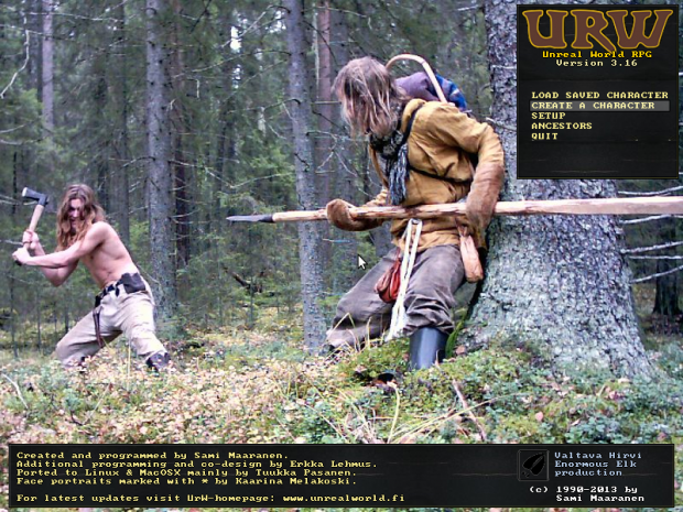 UnReal World RPG v3.16 linux