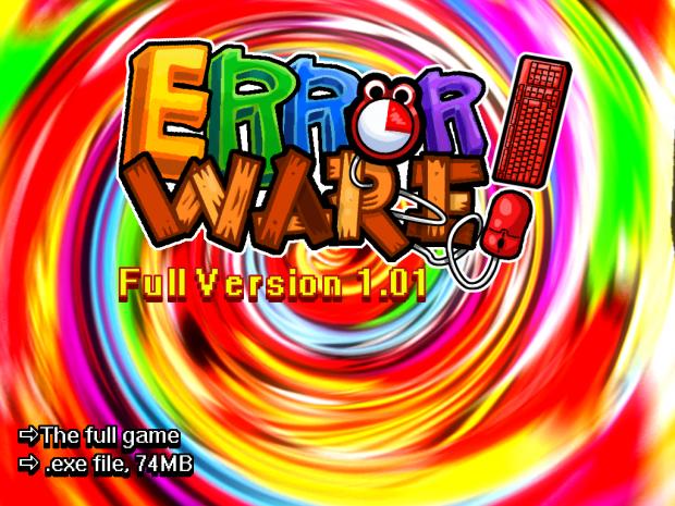 Error Ware - Full Version 1.01