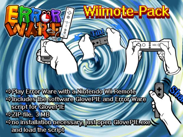 Error Ware - Wiimote Pack