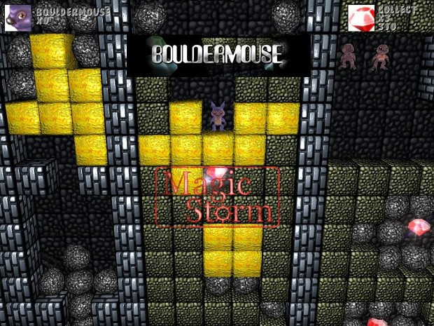 5 very easy level for Bouldermouse