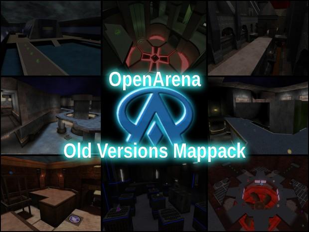 OpenArena Old Versions Mappack