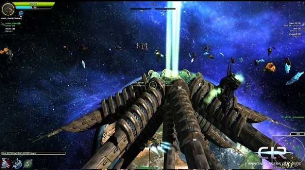 CLR: cannons lasers rockets FREE DEMO LINUX versio