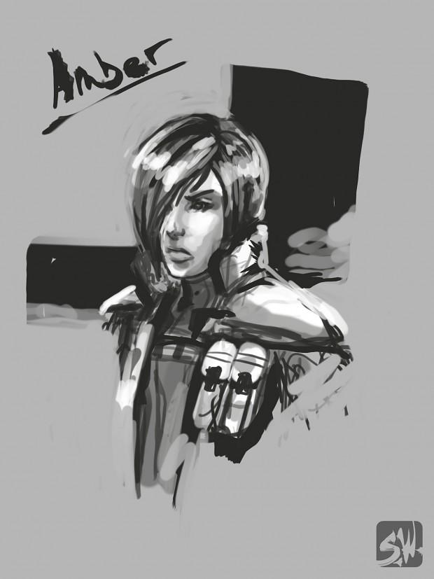 Draft Sketch of Amber for Developer Video Blog