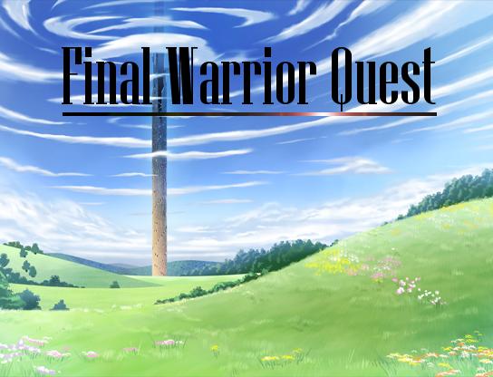 Final Warrior Quest Demo