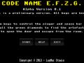 Code Name E.F.Z.G. - Mac OSX 10.6+