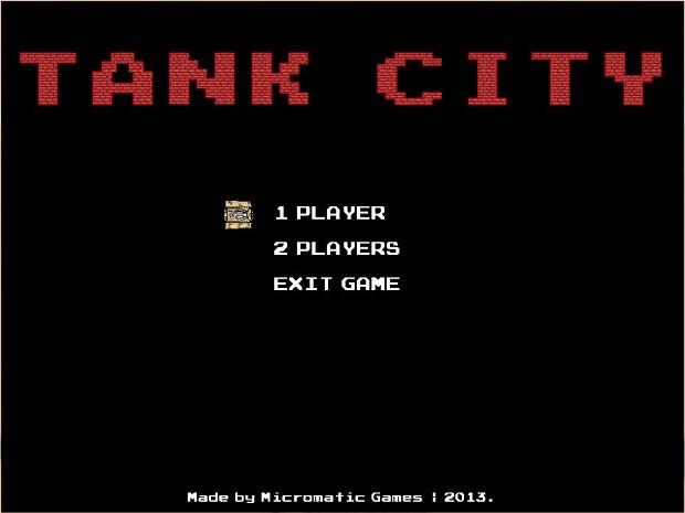 Tank City alpha