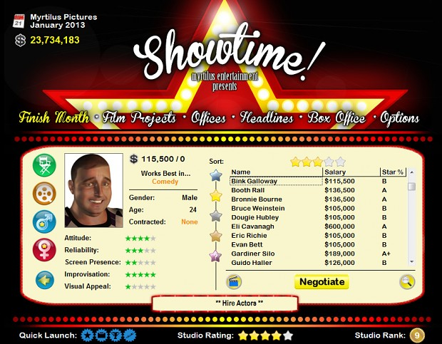 Showtime! (Demo)