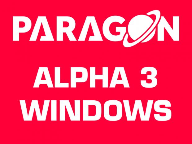 PARAGON Alpha 3 Windows