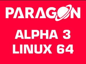 Paragon Alpha 3 Linux