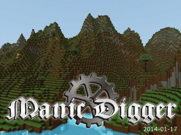 Manic Digger - Version 2014-01-17 (Installer)