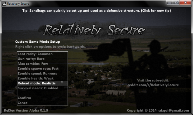 Relatively Secure Alpha 0.1.3