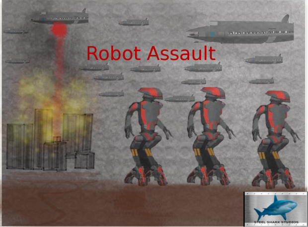 Robot Assault By Steel Shark Studios