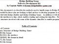 Bridge Building Game SDK