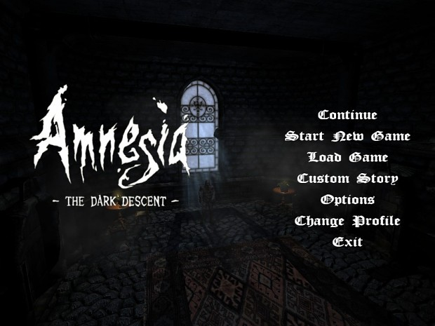 Amnesia Custom Main Menu Background