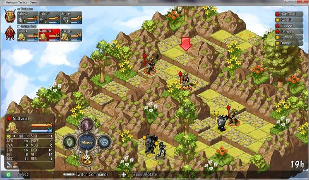 Hartacon Tactics Demo - Aug 2014
