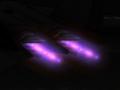 Purple afterburners