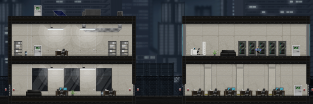 Two Buildings - Gunpoint